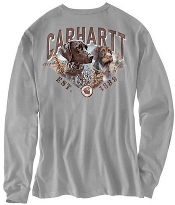 Carhartt's Best Friend Long-Sleeve Pocket T-Shirt #102271